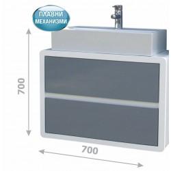 Долен шкаф за баня с мивка - Кала